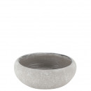 Keramik Schale Basi, D21,5cm, H8cm, Öffnung D18cm,